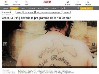 Ouest France du 08-07-2019