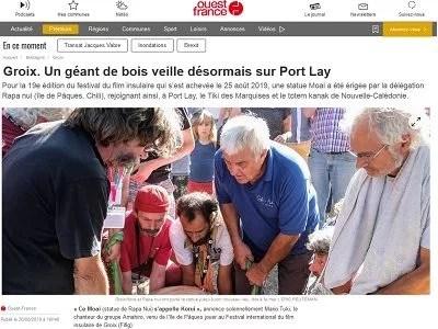 Ouest France du 26-08-19