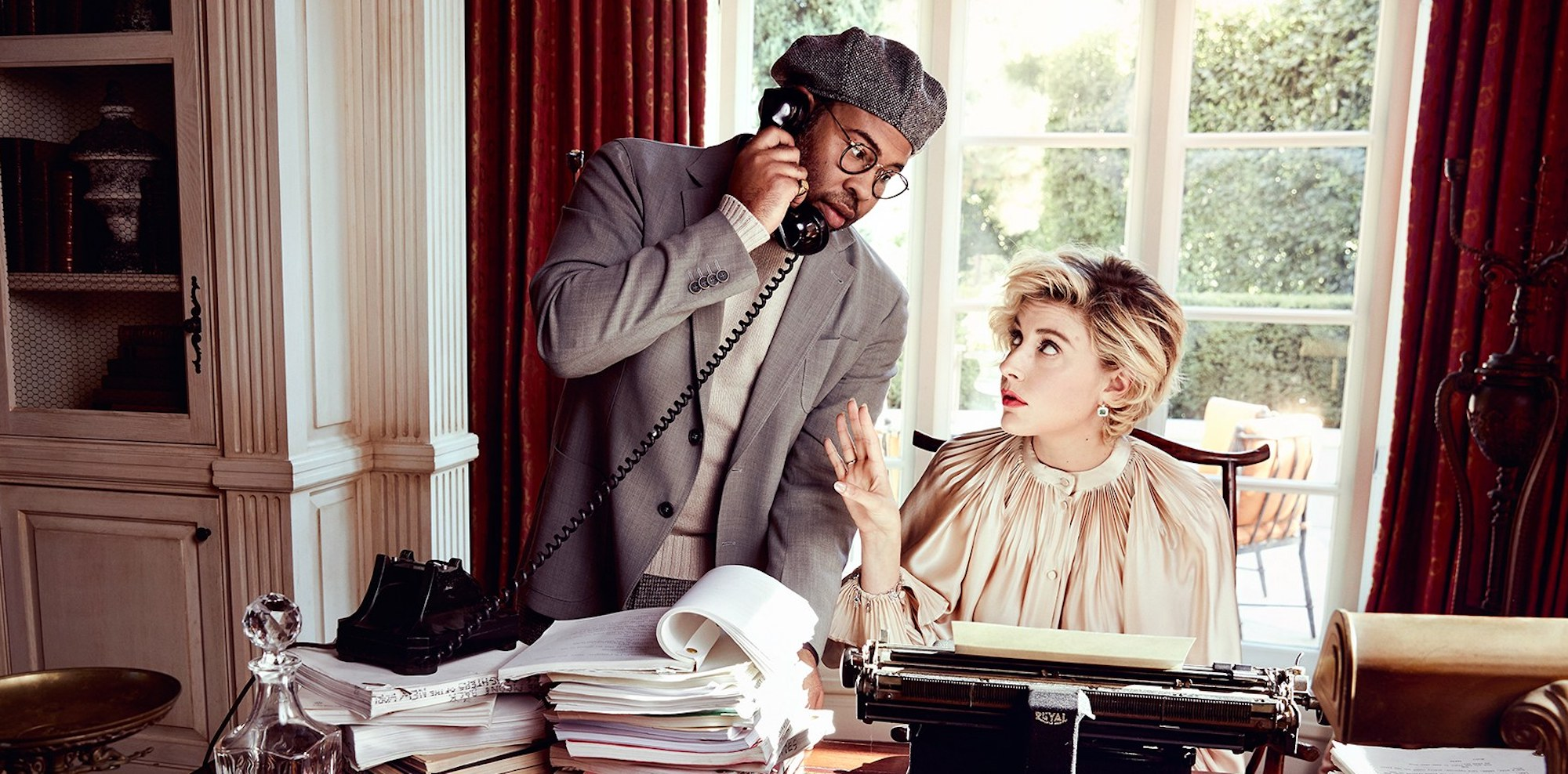 Greta Gerwig and Jordan Peele