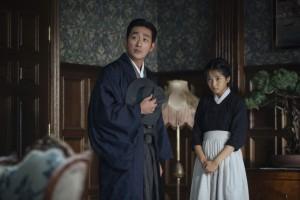 Adelsmann oder Betrüger, Dienstmädchen oder Taschendiebin: Sookee (Kim Tae-ri) und der Graf (Ha Jung-woo) spielen ganz eigene Rollen.