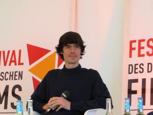 """Anatol Schuster beim öffentlichen Gespräch nach seinem Film """"Luft"""""""