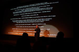 Dr. Michael Kötz nach einem überzeugenden Eröffnungsfilm.
