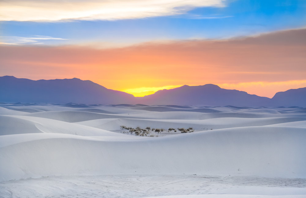 White Sands National Monument  Film Las Cruces