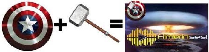Captain America Shield and Mjolnir