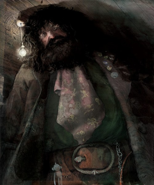 harry-potter-illustrated-hagrid