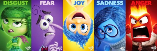 Inside Out - Emotion Poster-filmloverss