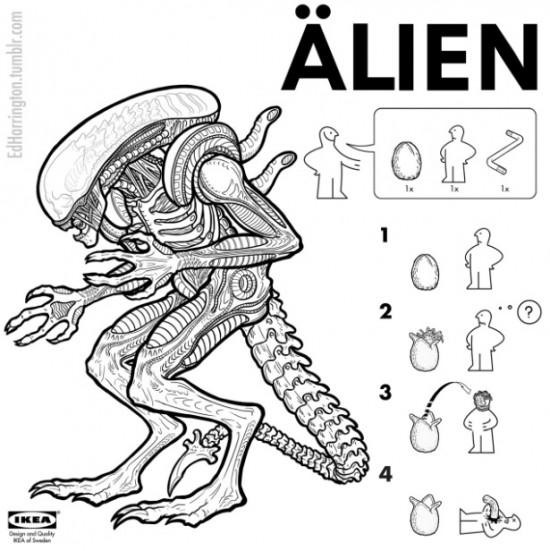 Ed Harrington-alien-filmloverss