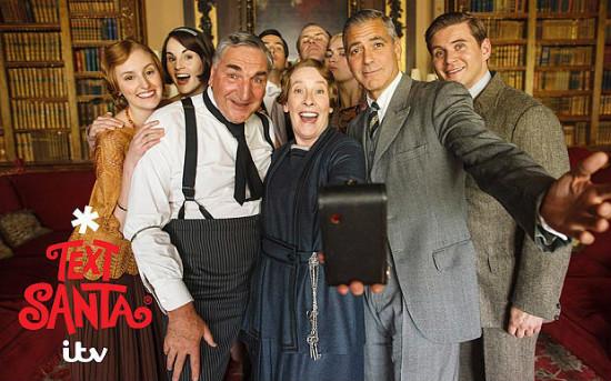 Downton Abbey'de George Clooney ile Özçekim
