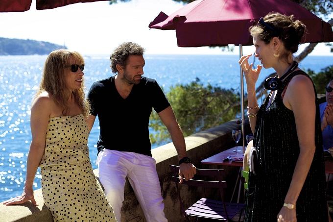 Filmin başrolleri yönetmen Maïwenn ile birlikte