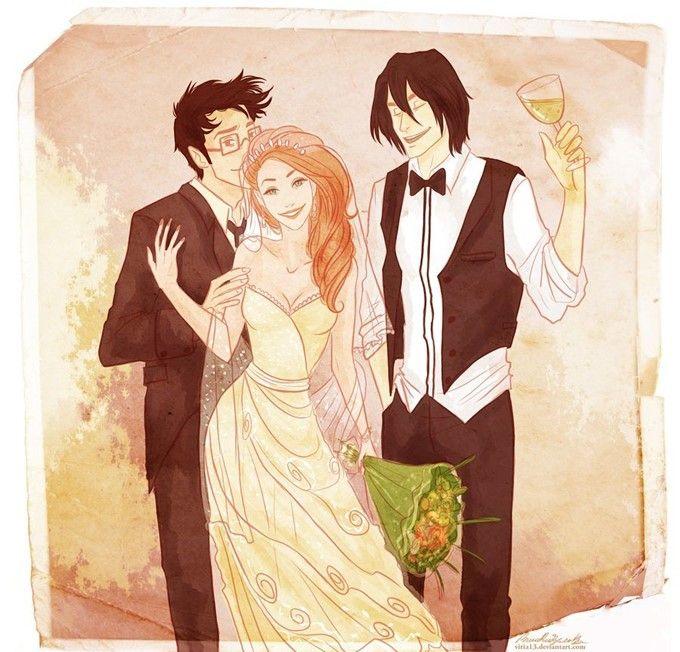 James İle Lilly'nin Düğünü