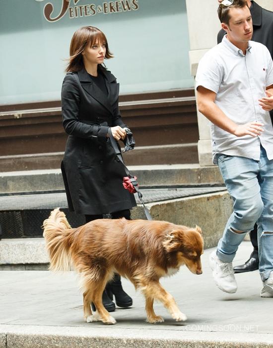 Celebrity Sightings In New York City - September 3, 2015