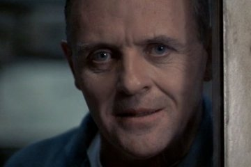 "Anthony Hopkins as Dr. Hannibal ""The Cannibal"" Lecter in the 1991 film ""Silence of the Lambs."" Photo Courtesy: MGM Home Entertainment"