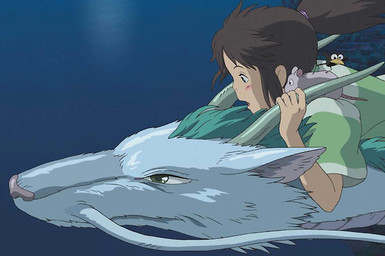 No Merchandising. Editorial Use Only. No Book Cover Usage. Mandatory Credit: Photo by Moviestore/REX/Shutterstock (1606802a) Spirited Away (Sen To Chihiro Kamikakushi) Film and Television