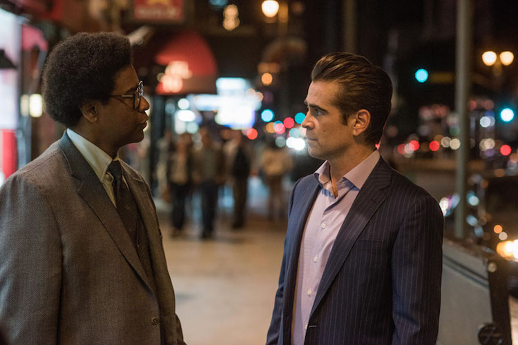 Denzel Washington and Colin Farrell star in Columbia Pictures' ROMAN J. ISRAEL ESQ.
