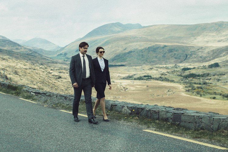 Colin Farrell and Rachel Weisz inThe Lobster,which plays around with the idea of compatibilit