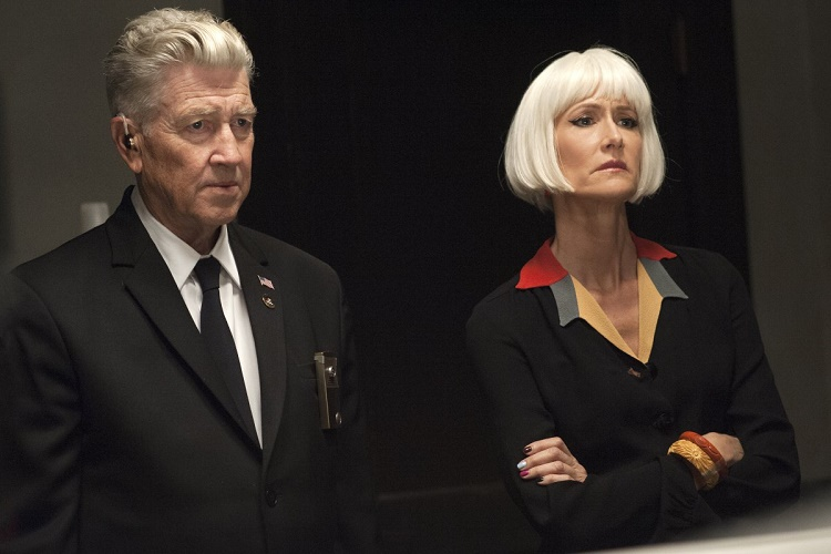 David Lynch and Laura Dern in a still from Twin Peaks. Photo: Suzanne Tenner/SHOWTIME