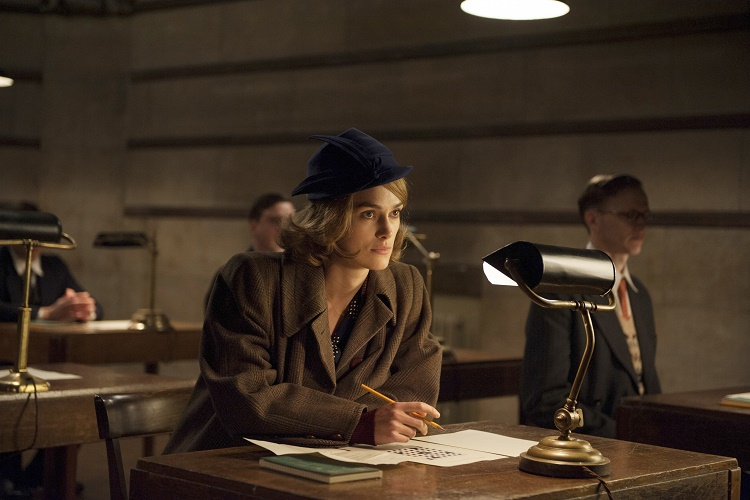 KEIRA KNIGHTLEY stars in THE IMITATION GAME
