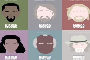 django-unchained-karakter-posterleri