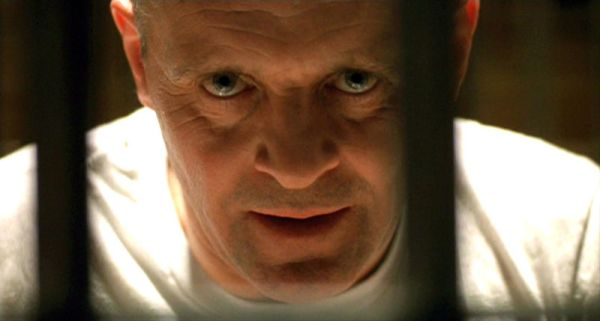 Sir Anthony Hopkins als Hannibal Lecter in Silence of the Lambs