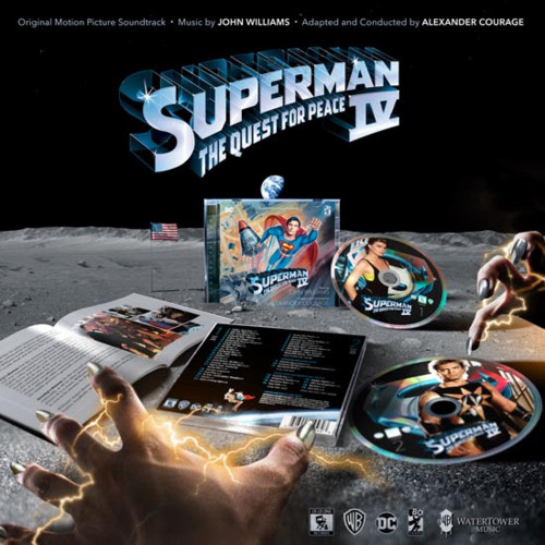 Film Music Site Espaol  Superman IV The Quest For