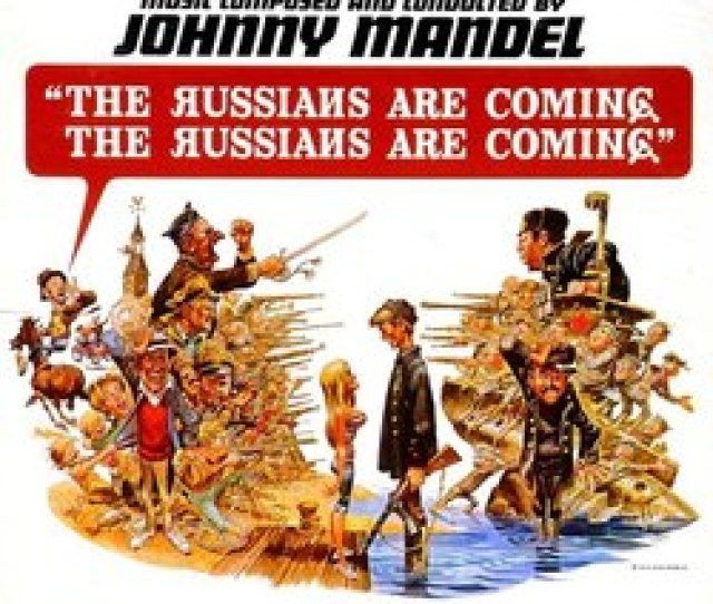 Film Music Site Espanol The Russians Are Coming The Russians Are Coming Soundtrack Johnny Mandel United Artists Records 1966 Original Motion