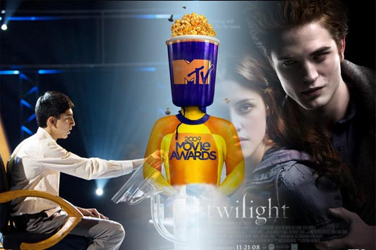 Its Slumdog vs Twilight for Best Movie Award...Vote Twilight!
