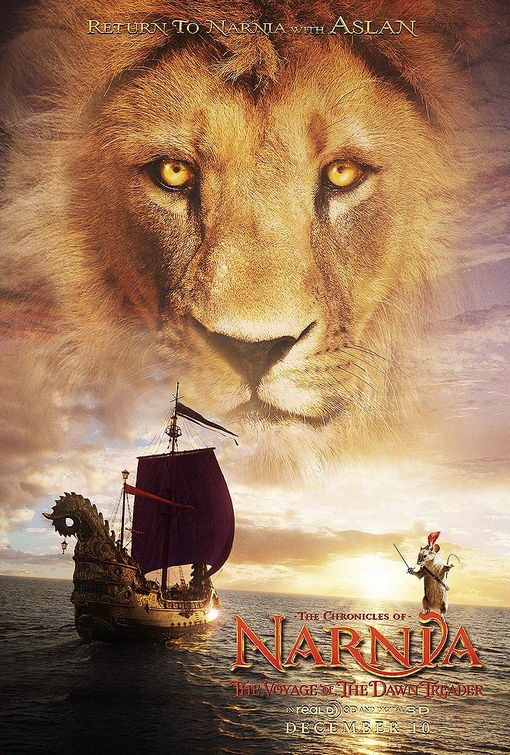 Five New The Chronicles of Narnia 3 Posters  FilmoFilia