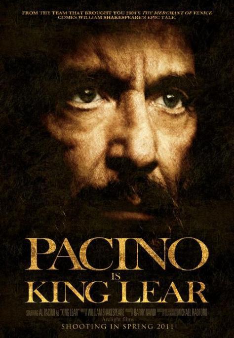 Pacino's Lear, forever-in-development; credit: filmofilia.com