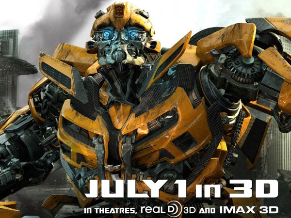 Transformers 3 Banner Bumblebee