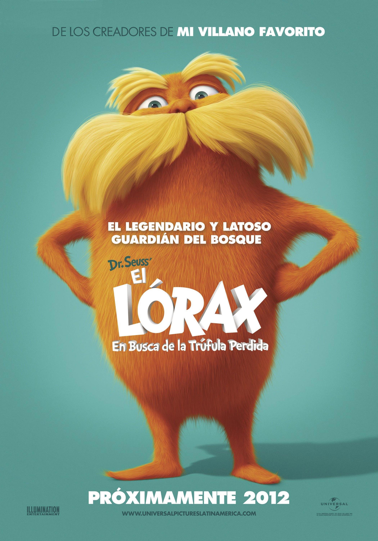 International Dr Seuss The Lorax Poster