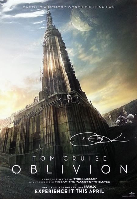 Oblivion Empire State Building poster