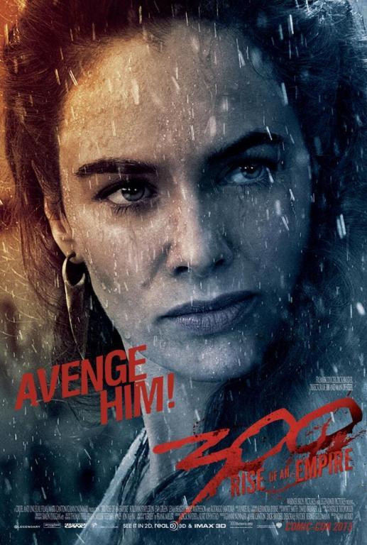300: Rise of an Empire - Avenge Him - Lena Headey poster