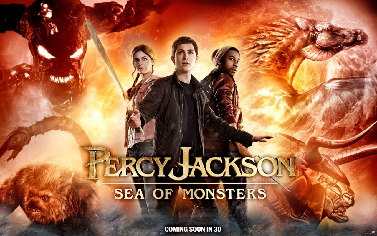 Percy Jackson Sea Of Monsters Clip Featurette