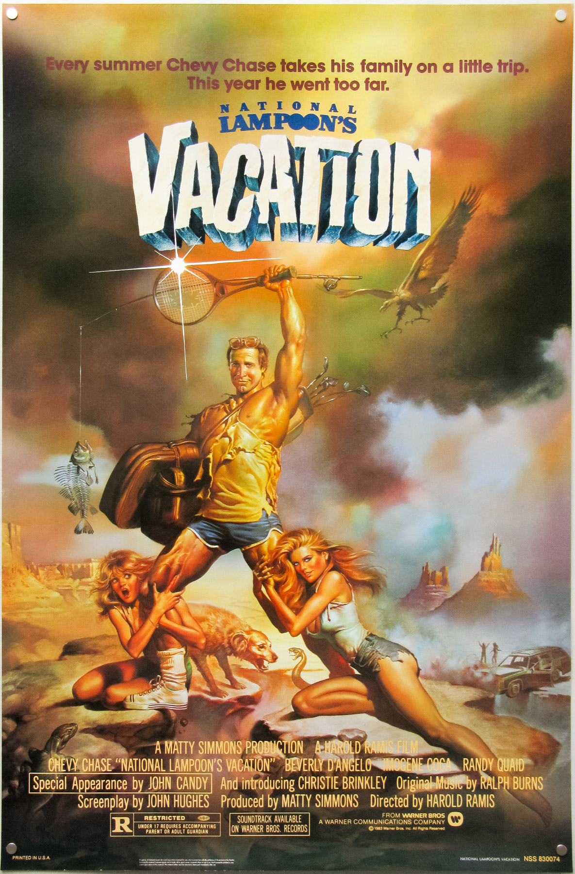National Lampoon S Vacation One Sheet Usa
