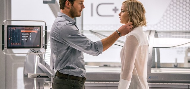 Lawrence And Pratt Star In Passengers Poster