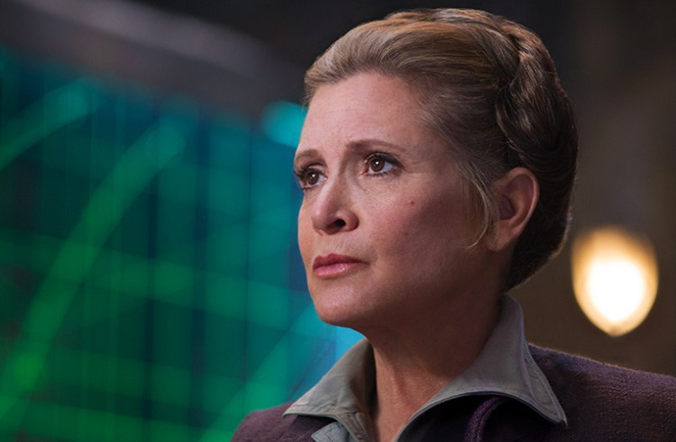 Carrie Fisher Had Completed Work On Star Wars: Episode VIII
