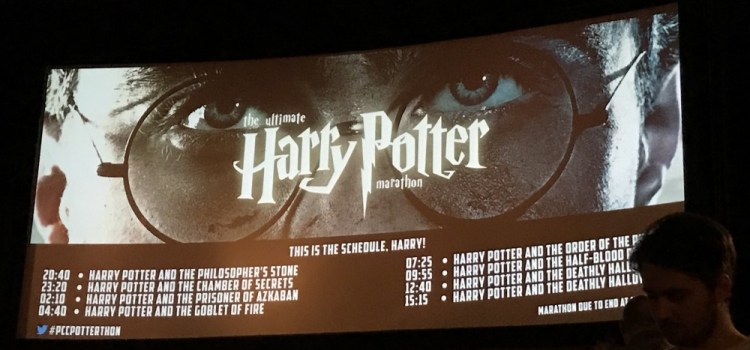 Filmoria Does The Harry Potter-Thon @ The Prince Charles
