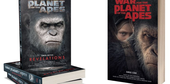 Competition: Win Planet Of The Apes Book Bundle