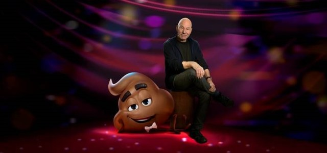 Meet The Emoji Movie's Poop Played By Patrick Stewart