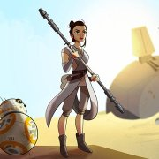 Watch: Star Wars Forces Of Destiny Short Featuring Rey & BB-8
