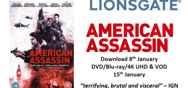 American Assassin Home Entertainment Release Details