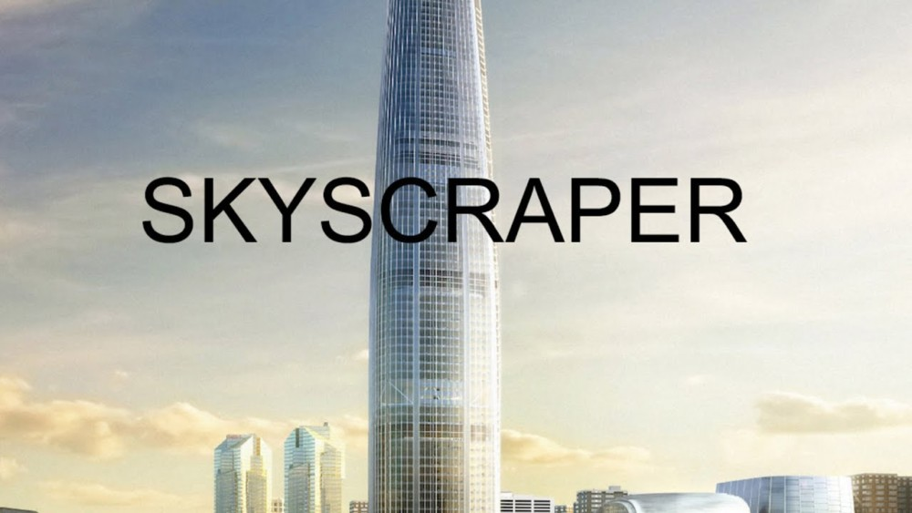 Dwayne Johnson is out to save his family in 'Skyscraper'