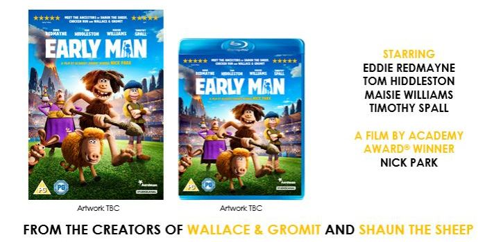 Early Man Home Entertainment Release Details