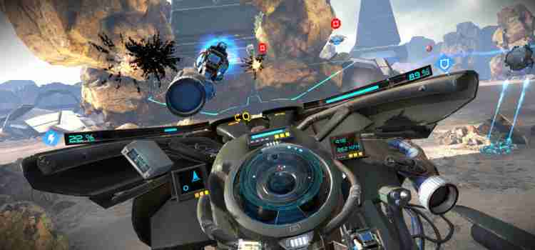 VR Hoverbike FPS Ground Runner: Trials Coming This October!