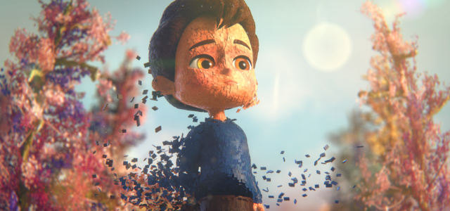 Abel Goldfarb's award winning animation 'Ian' is based on a true story of a young boy battling bullying and disability loneliness