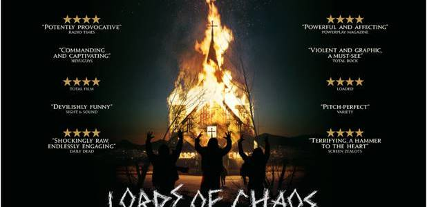 LORDS OF CHAOS will be released in UK cinemas from 29th March 2019