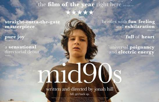 Mid90s is released in UK and Irish cinemas today, 12th April 2019