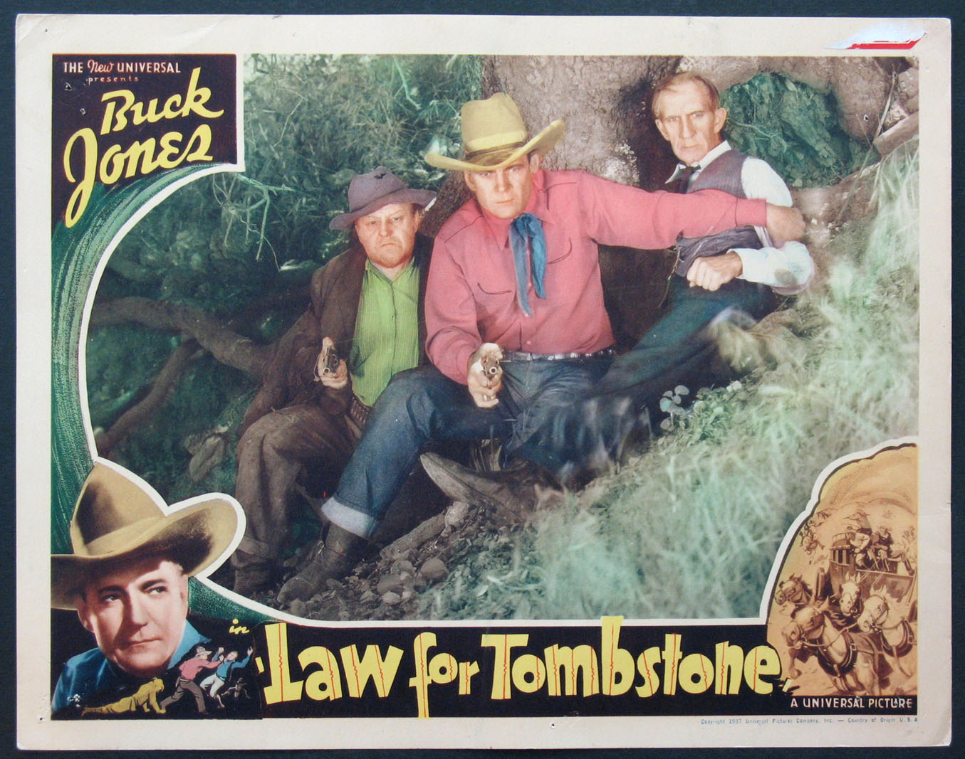 law for tombstone movie poster 1937