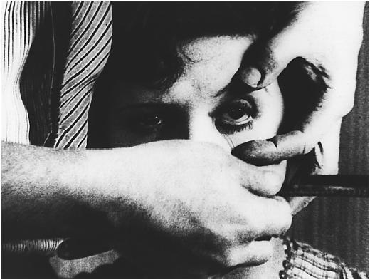 Un Chien andalou - L. Buñuel, 1928