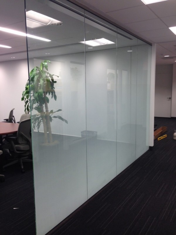 Government 3M Window Film Graphics Signage for Safety